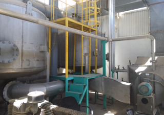 Complete Plaster of Paris (POP) Bandage Coating plant with Solvent Recovery