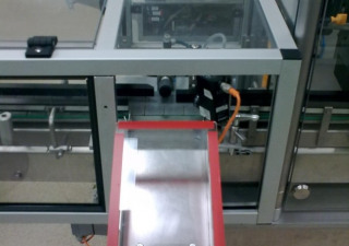 Bausch + Stroebel ESF 1020 self-adhesive labeller for stable containers (bottles, vials etc)