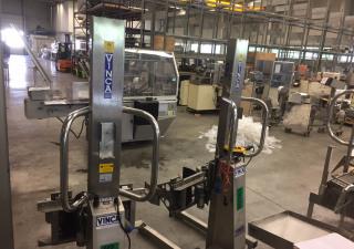 Dispositif de levage et basculement mobile Vinca TO300-INOX pour fûts, barils, etc.