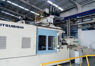 Mitsubishi 1300MM III W-240 Injection Molding Machine (2000)