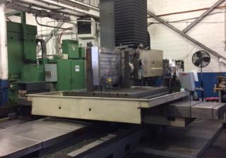 "6"" Wotan Cutmax 3 Cnc Horizontal Boring Mill"