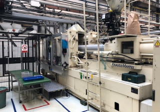 Krauss Maffei KM420C2 SP3500 Injection molding machine