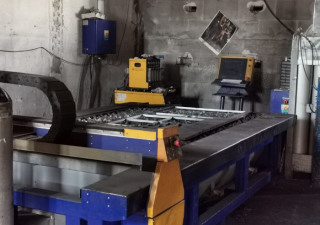 Plasma Cutting Machine Type Hs 3001.15P, Source Hi Focus 100