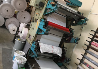 Windmöller & Hölscher 4x flexo Label Printing Machines