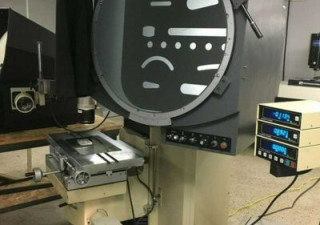 "Used Optical Comparator | 24"" Nikon Model V24B Optical Comparator"