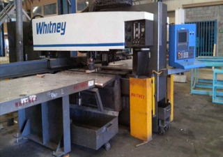 Whitney 3400 Xp Cnc Punch & Plasma