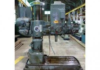 "Cincinnati Bickford 2E 4' X 11"" Radial Drill"