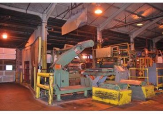 "Stamco Hunter 28,000 Lbs X 60"" Aluminum Tension Leveling & Coating Line"