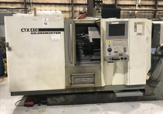 Dmg Gildemeister Ctx 410 4-Axis Cnc Lathe W/ Live Milling & Lns Quick Load S3 Bar Feed