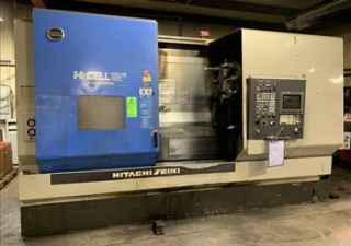 Hitachi Seiki Hicell Ca-40Ii Cnc Turning Center W/ Live Tooling