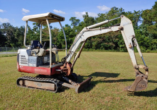 Takeuchi TB016 Mini Excavator