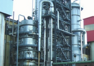 Vertical Crystallizer Met And Evaporator Vkt With The Capacity 70 Tons Of Massecuite Per Hour