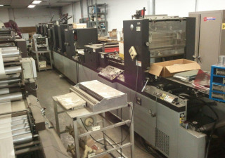 1986 Didde DG 860 4-COLOR Web Press
