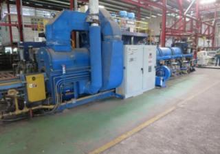 Danieli Breda Aluminum Billet Extrusion Press Line With Granco Clark Handling System