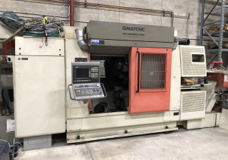 Tour Gildemeister GM67 CNC à 3 broches et 15 axes
