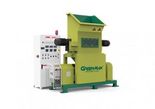 GREENMAX M-C100 EPS densifier to recycle foam waste