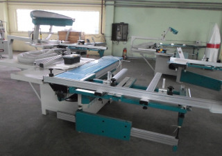 Sliding table saw MJ6122TD(400) Woodland Machinery (new)