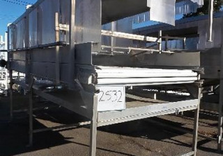 AG Design 6' wide x 17' long AG-Design Roller Belt Conveyor Washer