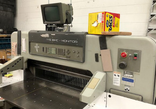 1992 Polar 115 EMC MON Paper Cutter