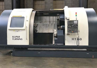 Johnford Ht-60C-2D Big Cnc 4-Axis Cnc Turning Center Lathe For Sale