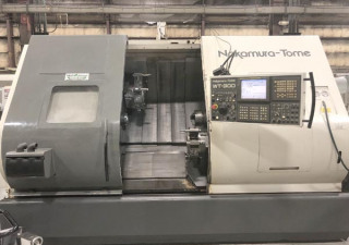 Nakamura Tome Wt-300Mmys 8-Axis Twin Spindle Twin Turret Cnc Turning Center With Y-Axis And Live Tooling  For Sale