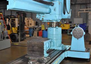 """8' X 19"""" Carlton 4A Radial Arm Drill"""