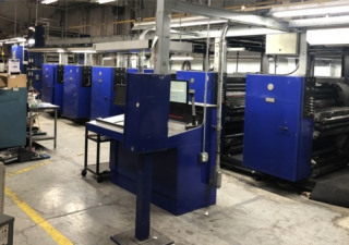 2002 Miracle 2500 6-UNIT Web Press