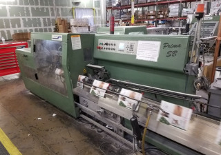 2000 Muller Martini PRIMA SB WITH (9) POCKETS Stitcher-trimmer