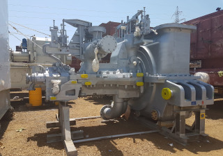 Combined Heat and Power Plant: GE & SIEMENS 52 MW