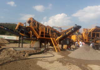FABO FULLSTAR 60 CRUSHING, WASHING & SCREENING  PLANT