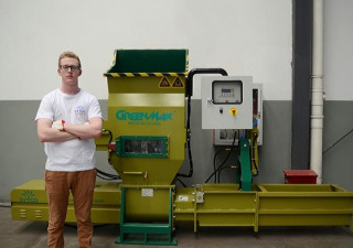 GREENMAX A-C100 Styrofoam compactor machine