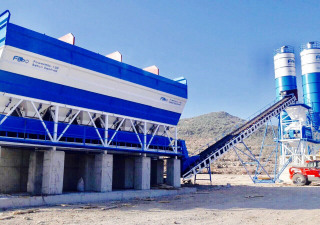 FABO POWERMIX-130 STATIONARY CONCRETE PLANT