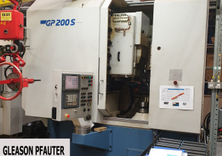 Gleason Pfauter Gp 200 S Five Axis Gear Shaper