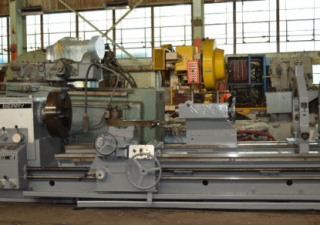 "33.4″/53″ X 118″ Binns & Berry ""Trident L850"" Heavy-Duty Gap-Type Engine Lathe"