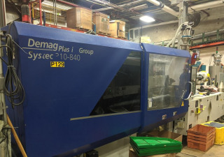 Used 310 Ton Demag Systec Injection Molding Machine