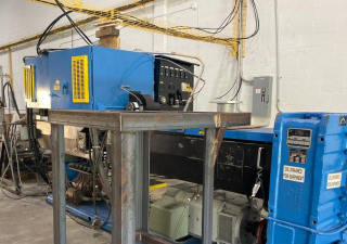 4.5″ 250 Hp Nrm Pacemaker Iii Single Screw Extruder W/ Wrp Complete Pelletizing Line