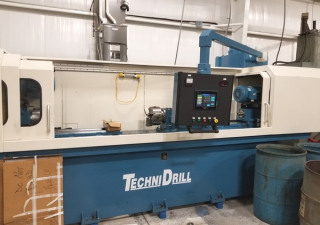 "TechniDrill Single Spindle Gun Drill | 52"" Long Part Length Cap"