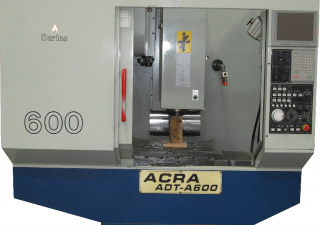 """Used Acra 23""""x15""""x18"""" ADT-A600 CNC Machining Center with Mitsubishi Controller"""