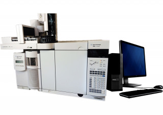 Agilent 7890A GC with 5975C MSD and 7693 ALS System
