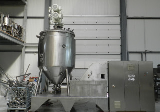 Vacuum Processing Plant DISHO KORUMA VP 180/3300 for Cosmetic and Food Stuff