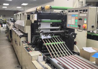 2  BUSINESS FORMS PRESSES (Fuji Kikai FNC8000)