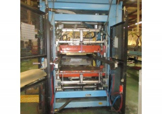 "Used Irwin Model 44 Mini Mag Thermoforming Line, 40"" X 44"" Forming Area, New In 2006"