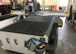 Used Multicam Series 3000 4′ X 8′ Cnc Router, New In 2013