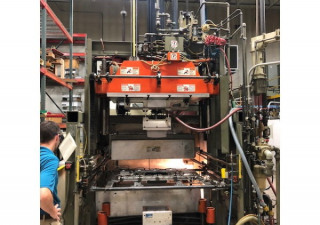 """Used Brown M 1428 P Single Station Thermoformer, 36"""" X 48"""" Forming Area"""