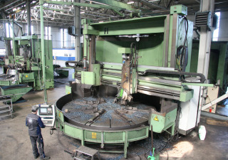 Titan Umaro SC 43 Vertical Turret Lathe with CNC Overhaul