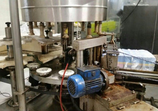 FILLING LINE FOR CD AND WATER IN PET BOTTLES