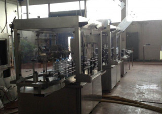 FILLING  LINE  FOR  WATER  1.000 bph x 5,0 l PET