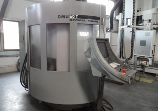 DECKEL MAHO DMU 60T - 4 Axis Vertical Machining Center