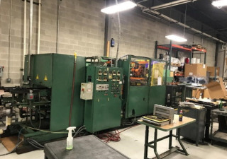 """Used Pi 2200 Inline Thermoformer, 19"""" X 23"""" Forming Area, New In 1995"""