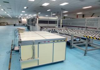 Production de modules PV semi-automatisés 3S 25MW